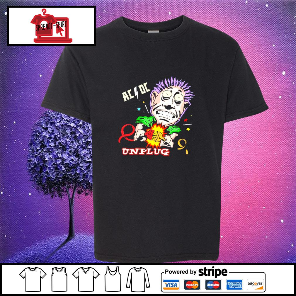Official AC DC unplug s youth-tee